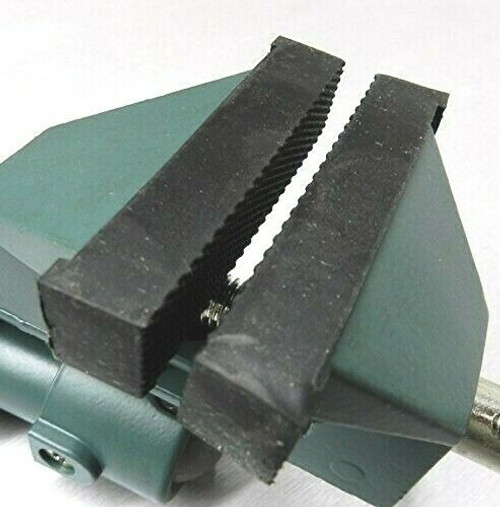 "Rubber Jaws for Swivel Bench Vise Replacement Part for 3"" Bench Vise Set of 2"