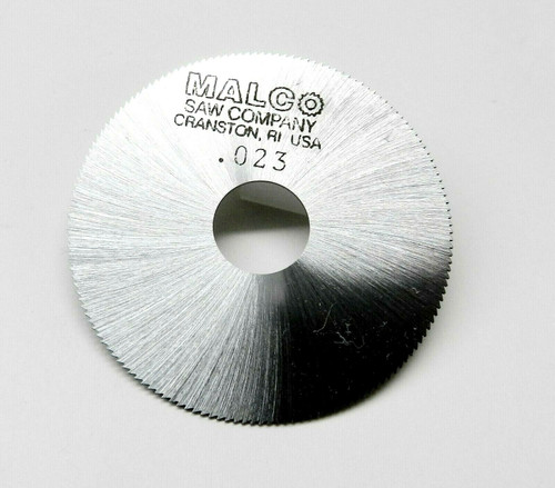 "Jewelers Slotting Saws 0.023"" Malco Saw Blade 2"" High Speed Circular Saw Blades"