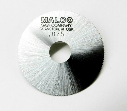"Jewelers Slotting Saws 0.025"" Malco Saw Blade 2"" High Speed Circular Saw Blades"