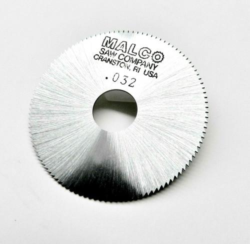"Jewelers Slotting Saws 0.032"" Malco Saw Blade 2"" High Speed Circular Saw Blades"