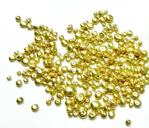 Art Casters Brass Alloy Yellow Casting Grain for Creative Fine Art Castings 1Lb.