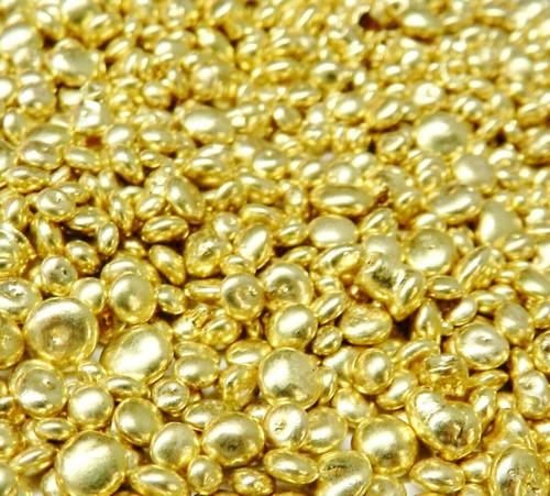 Art Casters Brass Alloy Yellow Casting Grain for Creative Fine Art Castings 5Lb.