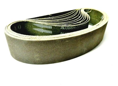"""6"""" Abrasive Sanding Belt for Expanding Drum Sander Aluminum Oxide 150 Grit 10 Pk"""