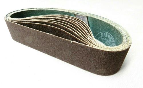 """6"""" Abrasive Sanding Belt for Expanding Drum Sander Aluminum Oxide 100 Grit 10 Pk"""