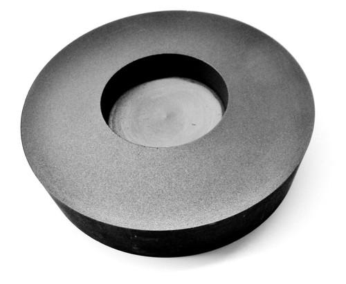 4 Troy Oz Silver Graphite Ingot Mold Round Coin Shape Melting Refining Scrap