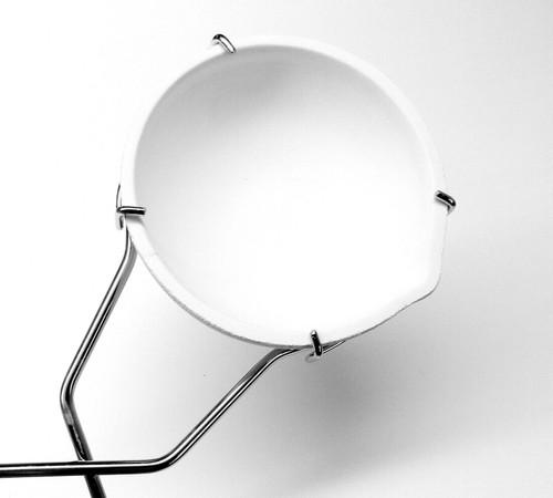 "Jumbo Whip Handle Melting Dish Holder for 4"" to 5-1/2"" Large Crucible Dish Tong"