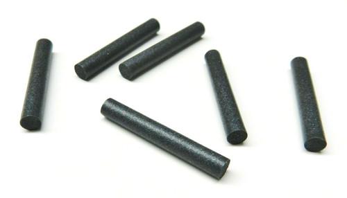 4mm Pin Polisher Medium Soft Silicone Polishing Abrasive Pin 6PC Made in Germany