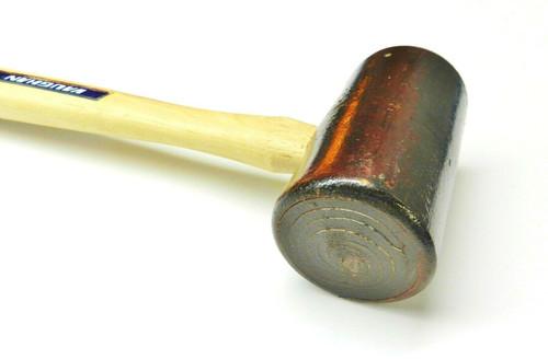"Vaughan 2-3/4"" Rawhide Mallet #6 Hammer Metalwork, Woodwork, Leather, Metalsmith"