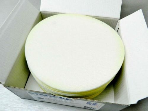 """STARCKE Flexible Foam Hook & Loop 6"""" Grip Discs 500 Grit White 10-Pack Germany"""