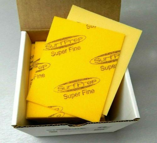 """Sanding Sponge Foam Back Pads 5-1/2"""" x 4-1/4"""" Super Fine By STARCKE - Box of 20"""