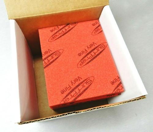 """Sanding Sponge Foam Back Pads 5-1/2"""" x 4-1/4"""" Very Fine By STARCKE - Box of 20"""