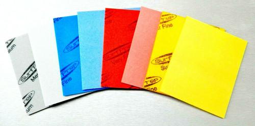 "Sanding Sponge Foam Back Pads 5-1/2"" x 4-1/4"" Assortment 8 Pads STARCKE"