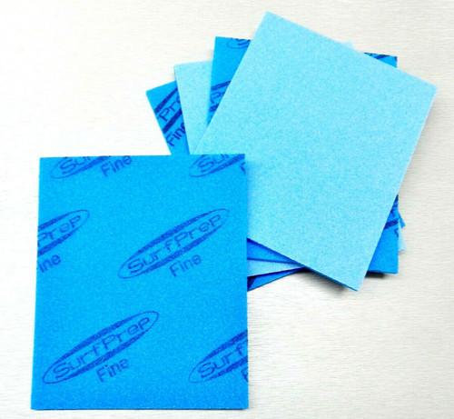 """Sanding Sponge Foam Back Pads 5-1/2"""" x 4-1/4"""" Fine 220/280 By STARCKE Pack of 5"""