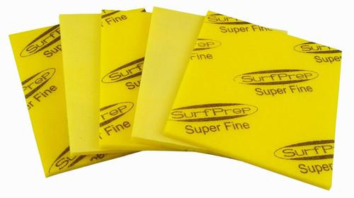 """Sanding Sponge Foam Back Pads 5-1/2"""" x 4-1/4"""" Super Fine By STARCKE - 5 Pcs"""