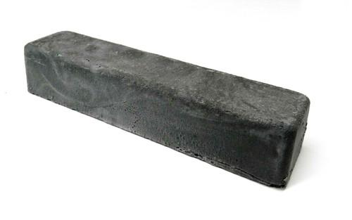 Black Emery Compound Hard Metal Stropping Buffing Polishing Compound 6oz. Bar
