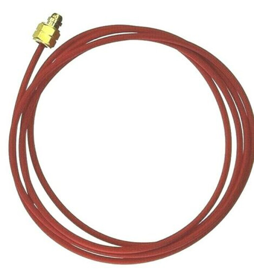 Smith Little Torch Hose for Fuel Replacement Hose 8 Feet Red with Fittings