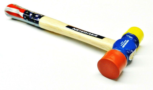Vaughan Soft Face Hammer SF12 Double Head 12oz with Hickory Handle Made in USA