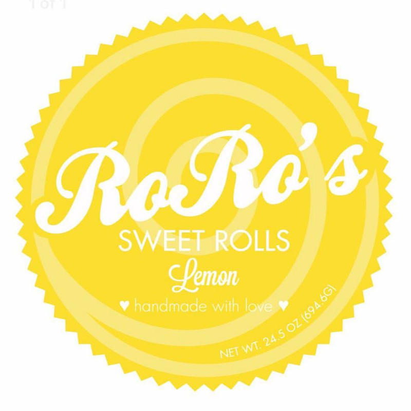 PREORDER:  Lemon Sweet Rolls - LIMITED TIME ONLY!, 2 Pans