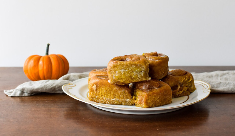 The SAMPLER:  1 Pan Pumpkin + 1 Pan Apple Pie