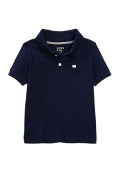Crafted in sleek pique material, this polo shirt from is an everyday essential that delivers handsome style to his wardrobe.