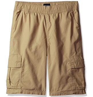 The Children's Place Boys' Husky Uniform Pull on Cargo Shorts (Size 12)