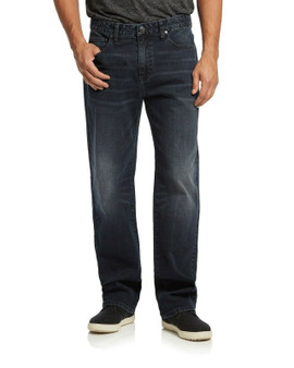 Thanks to its loose, casual fit and tapered, straight leg, the Spokane Jean keeps you looking your very best