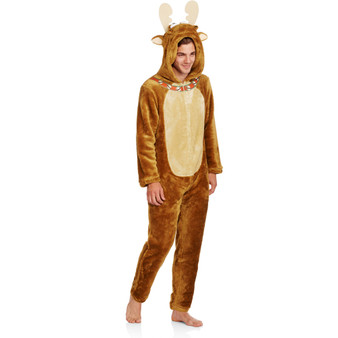 Fulfill your dream of dressing up like a moose this holiday season with a Holiday Moosey Lousey Union Suit. Have fun with it.