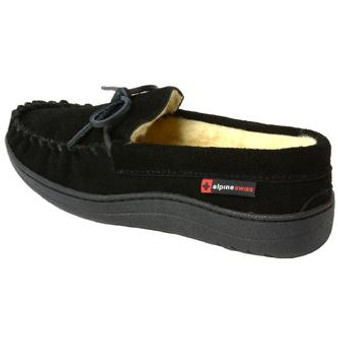 Let these comfortable moccasin slippers be your new favorite house shoes!