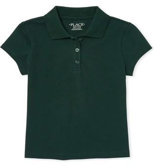 The Children's Place Girls' Uniform Pique Polo - (Sz 7/8)