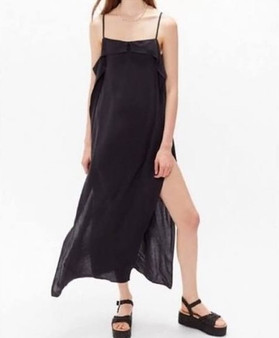 Urban Outfitters Side Slit Boho Duster Romper -(Sz Small)