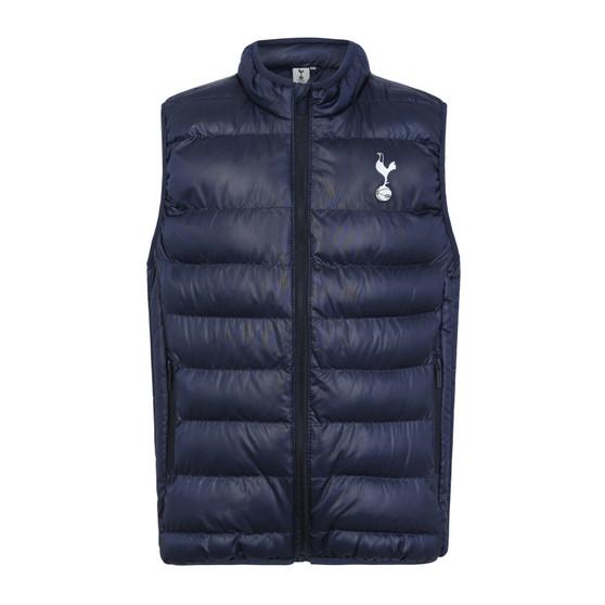 Tottenham Hotspur FC Official Gift Boys Padded Body Warmer Jacket Gilet (Size 11/12)
