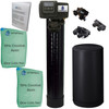 Upgraded 2 cubic Foot (64k) On Demand Whole Home Water Softener with 10% Crosslink Resin