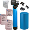 AFWFilters IRONPRO2 Pro 2 Combination Water Softener Iron Filter Fleck 5600SXT Digital metered Valve for Whole House (80,000 Grains, Blue)