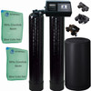 Dual Alternating Tank Upgraded 1 cubic Foot (32k) Fleck 9100SXT On Demand Whole Home Water Softener with 10% Crosslink Resin