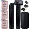 Dual Alternating Tank Iron Pro 1.5 cubic Foot (48k) Fleck 9100 On Demand Whole Home Water Softener with Fine Mesh Resin