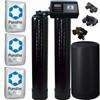 Dual Alternating Tank 1.5 cubic Foot (48k) Fleck 9100SXT On Demand Whole Home Water Softener with Purolite C100E Resin