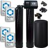 Alternating Tank 2 cubic Foot (64k) Fleck 9100SXT On Demand Whole Home Water Softener with Purolite C100E Resin