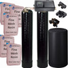 Dual Alternating Tank Iron Pro 2.5 cubic Foot (80k) Fleck 9000SXT On Demand Whole Home Water Softener with Fine Mesh Resin