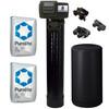 Complete 2 Cu Ft (64k max) Purolite C100E Water Softener with Fleck 5600SXT Digital Metered Control Head