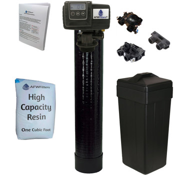 1 cubic Foot (32k) On Demand Whole Home Water Softener with High Capacity Resin