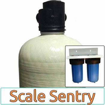Scale Sentry RESIDENTIAL Salt-Free Home Water Conditioner with 2 Stage 10-inch Big Blue Prefilter