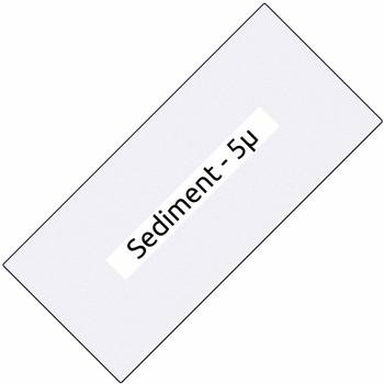Big Blue 10-inch Sediment Filter - 5-micron
