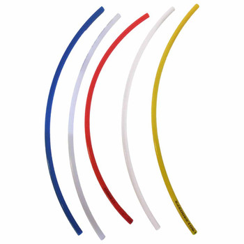 Polyethylene Tubing in 5 Different Colors - 1/4 inch (per foot)