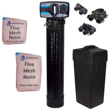 1.5 Cubic Foot (48k max) Iron Pro Fine Mesh Water Softener with Fleck 5600