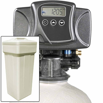 Water Pro Plus 20 with Fleck 5600SXT Water Softener and Multi Media Filter for Iron, Improved Sulfur, Tastes, & Odors