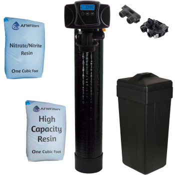 2 cu ft Digital Nitrate/Nitrite Filter Water Softener 50/50 Resin Blend with Fleck 5600SXT -