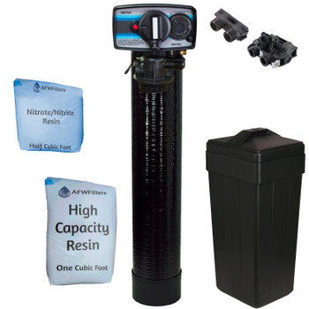 1.5 cu ft Nitrate/Nitrite Filter Water Softener 1.5  Cu Ft 33/67 Resin Blend with Fleck 5600