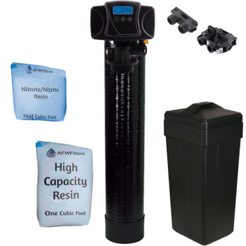 1.5 cu ft Nitrate/Nitrite Filter Water Softener 1.5 Cu Ft 33/67 Resin Blend with Fleck 5600SXT