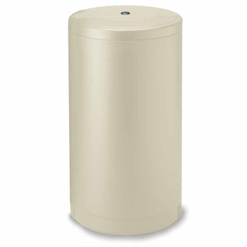 18-inch x 33-inch Round Salt Brine Tank for Water Softeners with Safety Float (Autotrol)