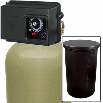 120k Commercial High Flow Water Softener with Fleck 2850 Timer